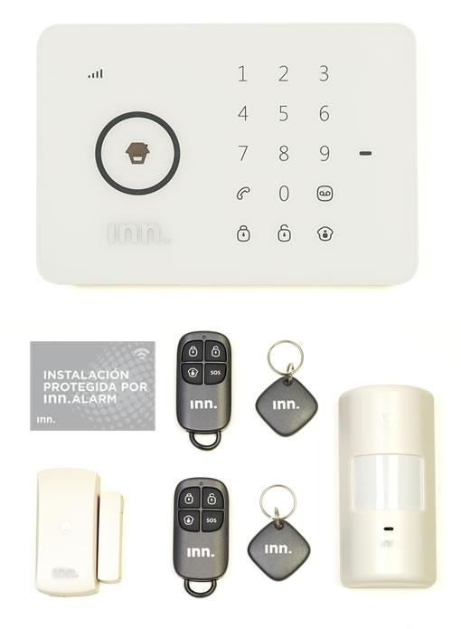 Alarma inalambrica con SIM de comunicación