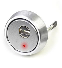 Escudo protector con alarma incorporada