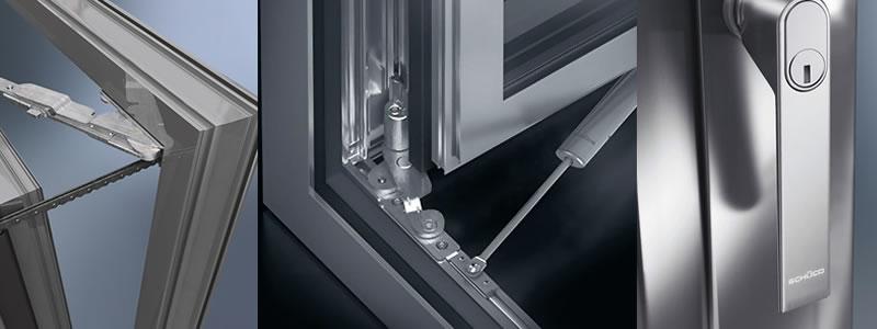 seguridad venatnas aluminio
