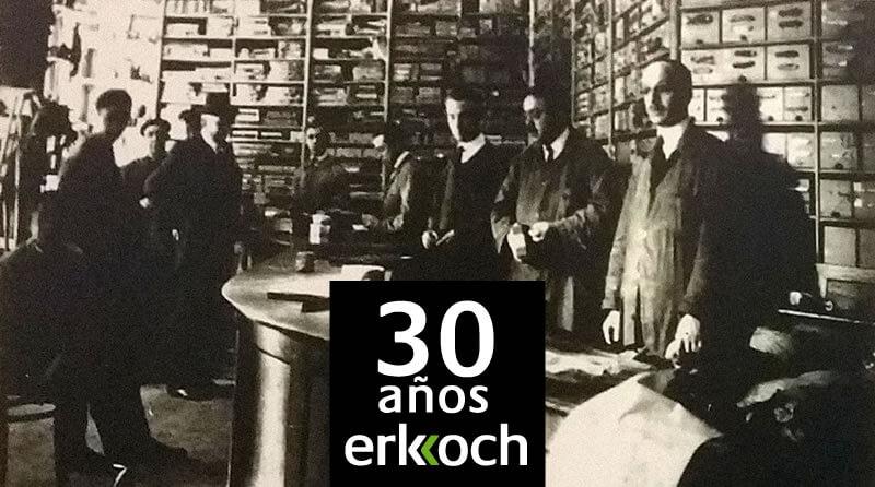 Erkoch cumple 30 años