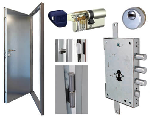 Puertas de seguridad para trasteros y lonjas