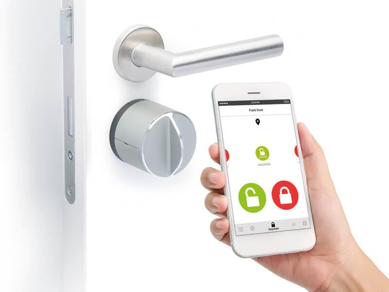 llave virtual en el móvil
